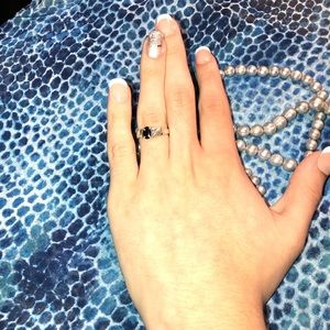 Vintage Jay King Sapphire ring